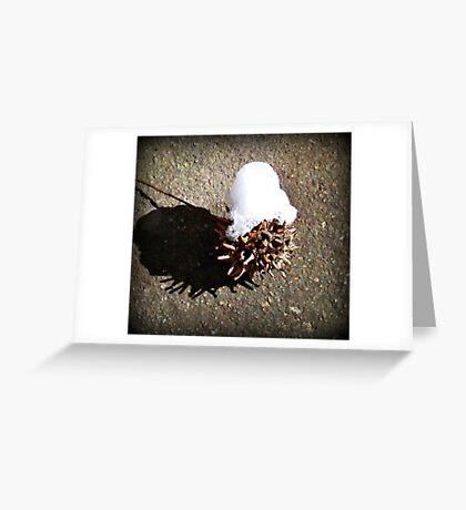 Snow Cap Greeting Card