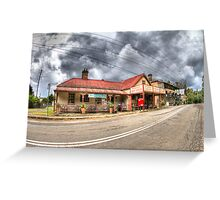 Wollombi Village, NSW Greeting Card