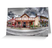 Wollombi Village Store, NSW  Greeting Card