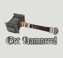 Get Hammered- Vintaged by Natasha C