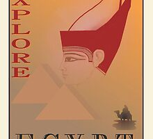 Explore Egypt by LeftHandPrints