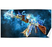 AK-47 | Case Hardened  Poster