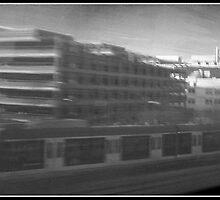 Speeding to Munchen Hbf by Dimbledar
