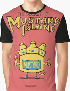 Look behind you, a three-headed mustard! Graphic T-Shirt