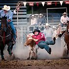 Steer Wrestling by Jason Pang, FAPS FADPA