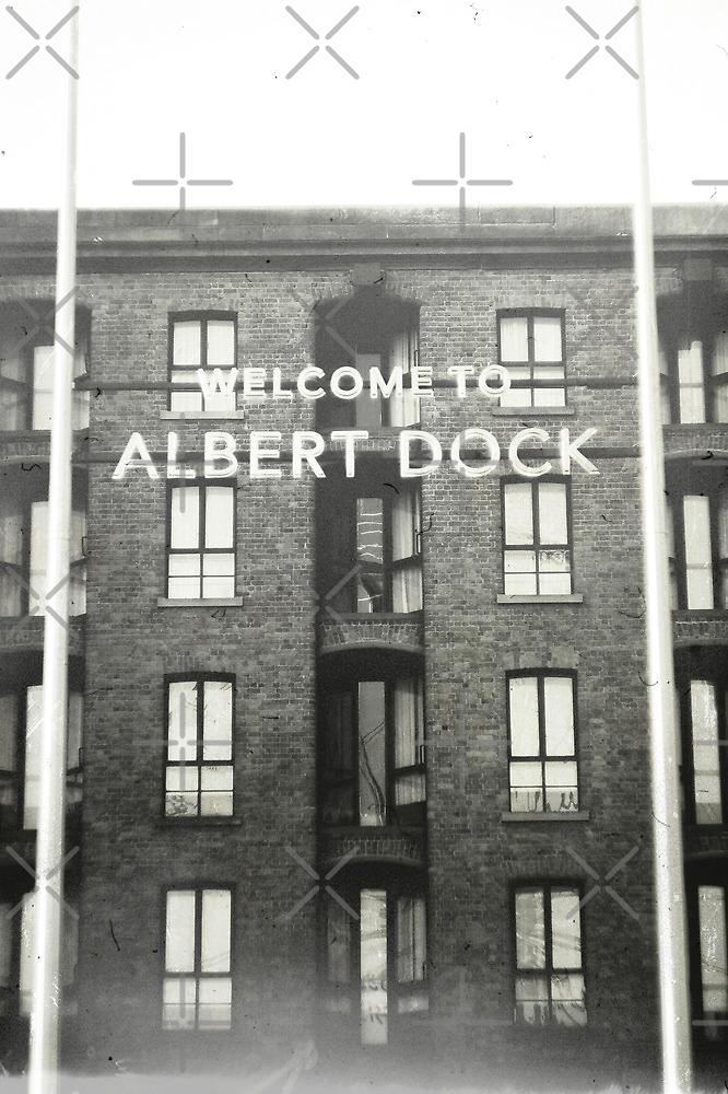 Albert Dock in Monochrome by AndrewBerry
