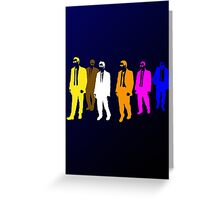 Reservoir Colors with Mr. Blue Greeting Card