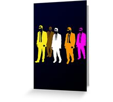 Reservoir Colors Greeting Card