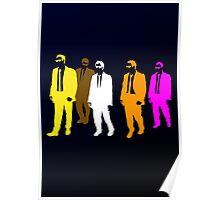 Reservoir Colors Poster