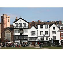 Cathedral Green, Exeter Photographic Print