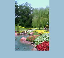 Lovely Garden with a Pond in Orlando Florida T-Shirt