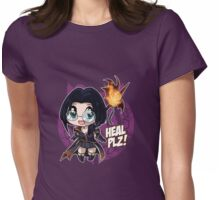 MMO's Cute Classes -  Priest Womens Fitted T-Shirt
