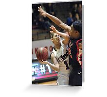 Missouri-St. Louis vs UIndy 8 Greeting Card