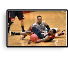 UIndy vs Missouri-St. Louis Mens 3 Canvas Print