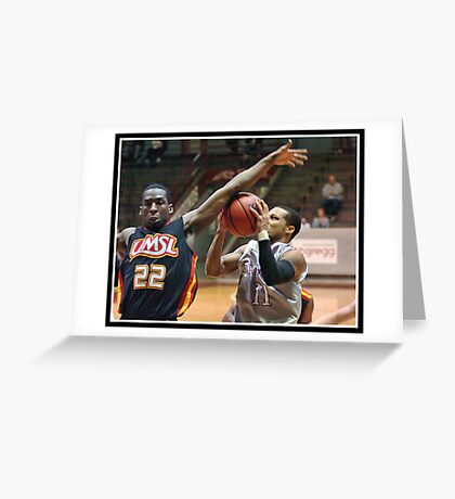 UIndy vs Missouri-St. Louis Mens 9 Greeting Card