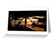 Langkawi Beach Bar Greeting Card