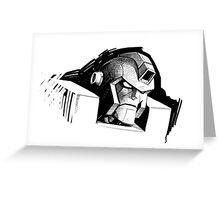 Angry Robot Greeting Card