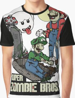 Super Zombie Bros. Graphic T-Shirt