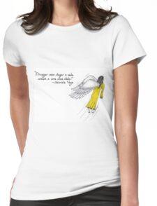 Alma alada divagando Womens Fitted T-Shirt