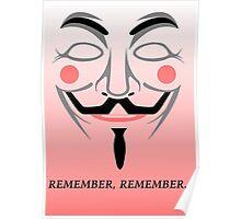 Remember remember Poster