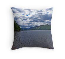 Derwentwater View Throw Pillow