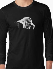 Angry Robot White Long Sleeve T-Shirt