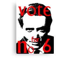 Vote #6 Canvas Print