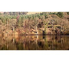 Winter Reflections - Ladybower Photographic Print