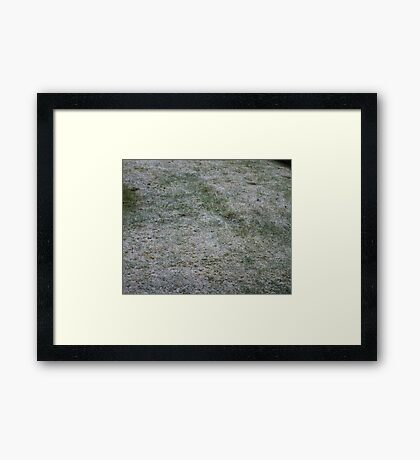 Snowy Saturday Framed Print