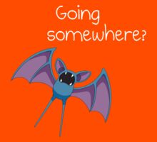Zubat - Going Somewhere? Kids Tee