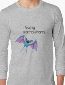 Zubat - Going somewhere? Long Sleeve T-Shirt