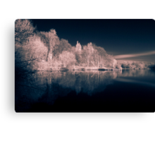 Charnwood Lake IR 1.0 Canvas Print