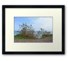 Above Lake Michigan Framed Print