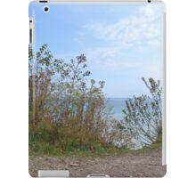 Above Lake Michigan iPad Case/Skin