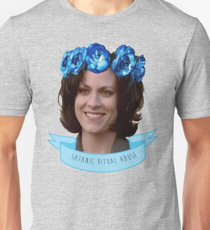 MONICA REYES X FILES ANGEL / ALIEN OF THE WORLD Unisex T-Shirt