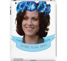 MONICA REYES X FILES ANGEL / ALIEN OF THE WORLD iPad Case/Skin