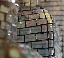 Mosaic Glass Decanter by Guatemwc