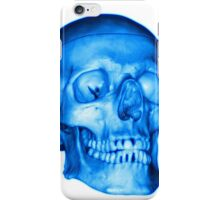 Blue Skull iPhone Case/Skin