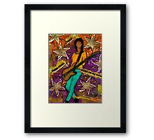 A Student of the JAM Framed Print