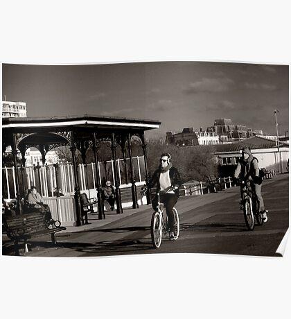 vintage riders Poster