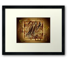 Surrounded By Friends - Makes The Wall Of Art Complete  Framed Print