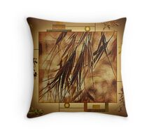 Surrounded By Friends - Makes The Wall Of Art Complete  Throw Pillow