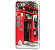 THE TEMPLE BAR iPhone Case/Skin