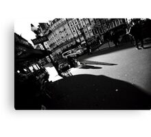 Paris, the shadow of the city Canvas Print