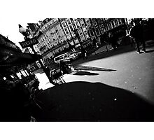 Paris, the shadow of the city Photographic Print