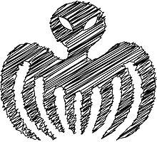 Sketchy Series - Spectre Logo (1965) [James Bond] Photographic Print