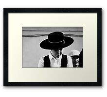 hats .. Framed Print