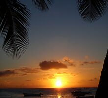 Barbados sunset3 by scaff