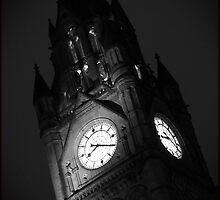 Twenty Past Eight, Manchester Town Hall by Nicholas Coates