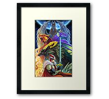 The Dragonmaster Framed Print